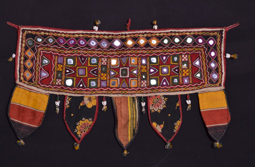 R-256 Toran that inspired a bag and a bunting