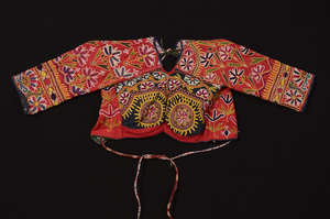 embroidered blouse from eastern Kutch