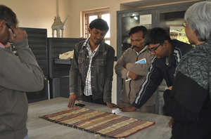 Artisan students study Museum collections