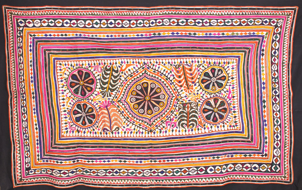 A Rabari quilt in the KR Museum collection