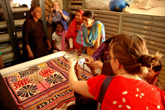 Expanding museum for women artisans of Kutch India
