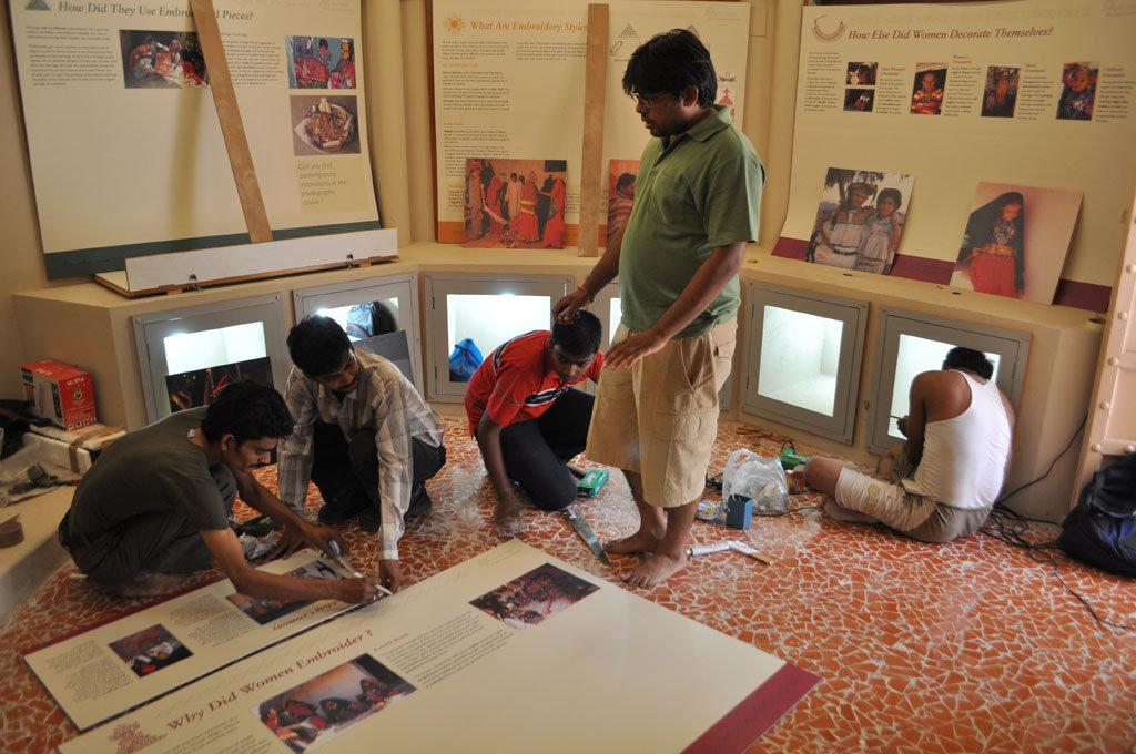 Work on Exhibition