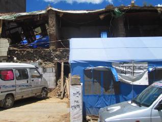 Jyekundo, a tent city – July 2010