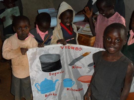 children learning materials