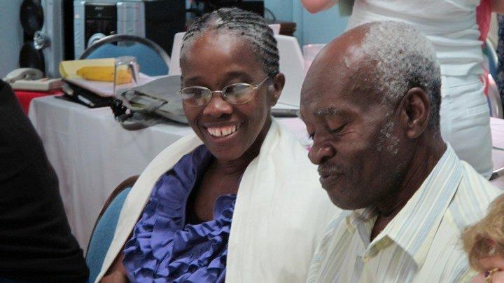 Hazel and Joe from Montserrat