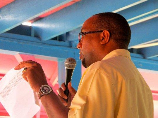 Alleyne Regis of PCI leading workshop