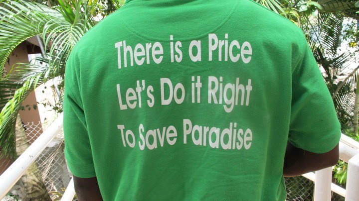 T-shirt sends a message