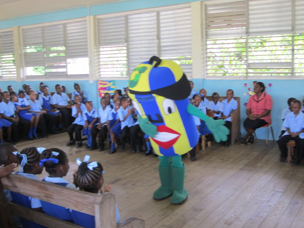 Characters engage students