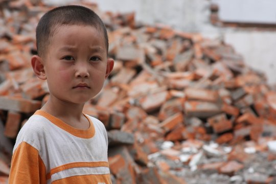 China Earthquake clean water relief project