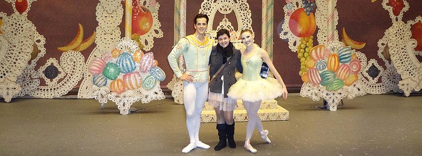 Tatiana with Robert Fairchild and Tiler Peck
