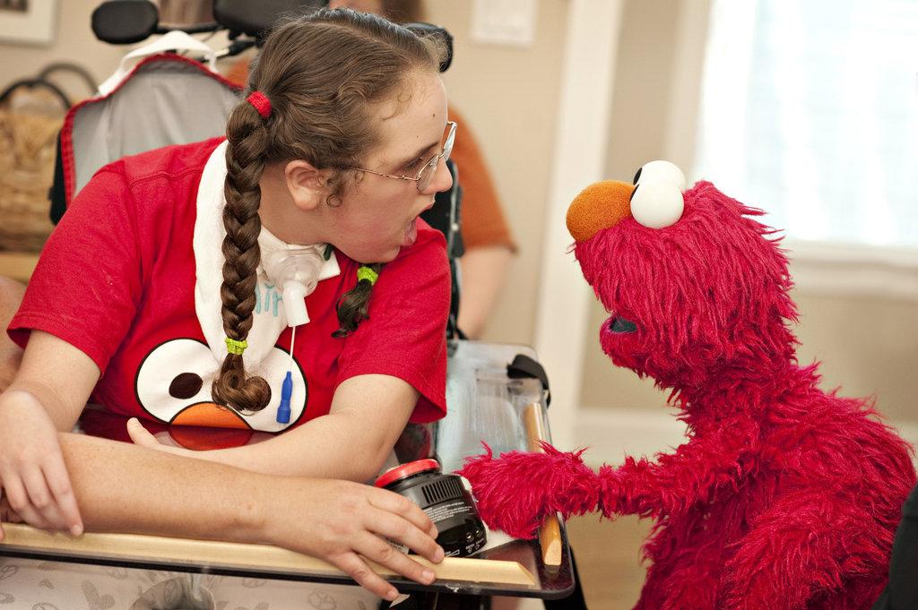Elmo and Brigit