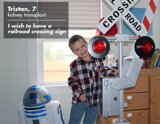 Tristan and his sign