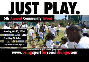 "6th Annual ""Just Play"" date announced"