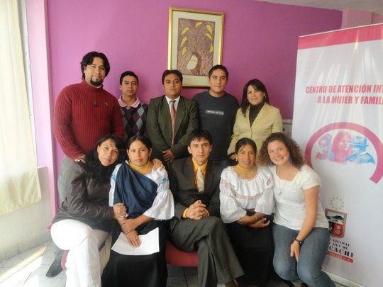 Workers in the Women's Center