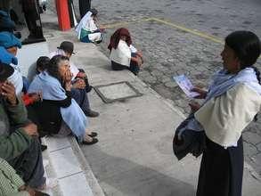Organizing at El Centro de Atencion a la Mujer