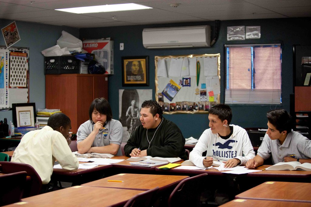 Mentors are role models of college success.