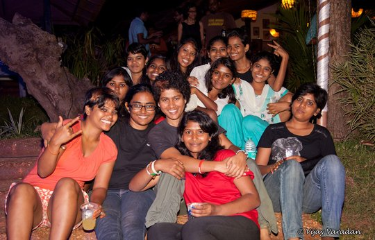 Krantikaries at The Goa Project 2014