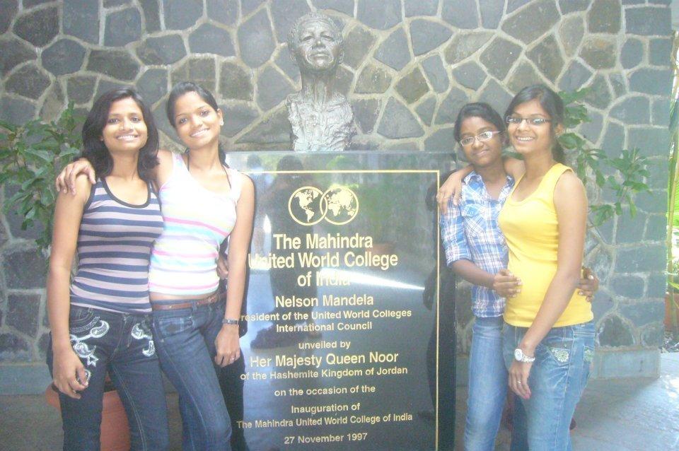 Revolutionaries visiting United World College