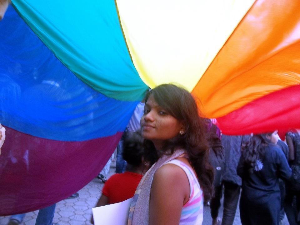 Revolutionary, Savita @Pride, Bangalore 2011