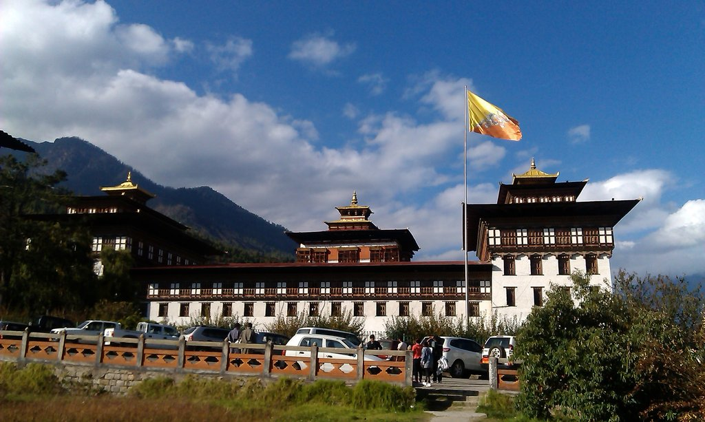 Sightseeing in Bhutan