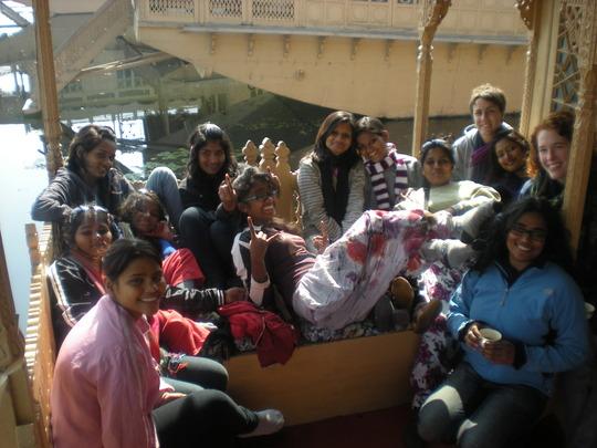 Breakfast on a House Boat (Srinagar)
