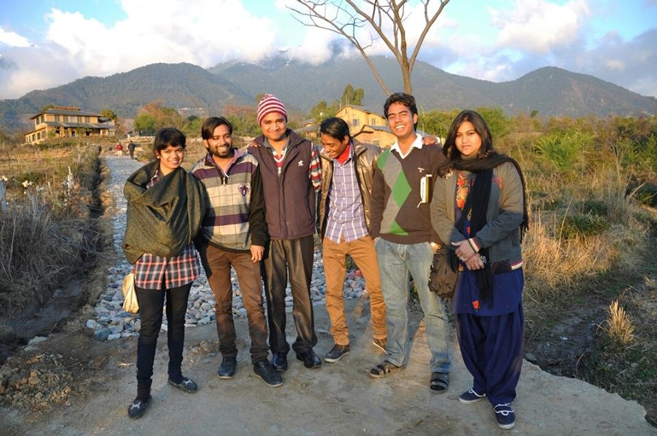 Kavita at Sambhaavna Institute, Himachal Pradesh.
