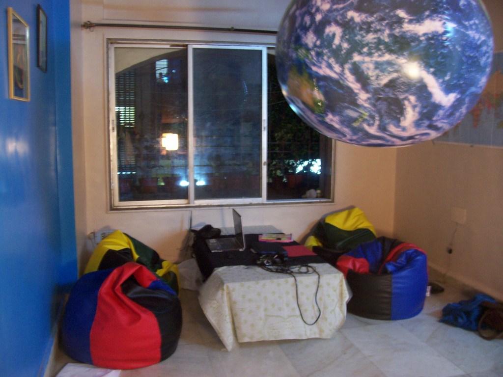 "The Kranti ""Office""/Living Room"