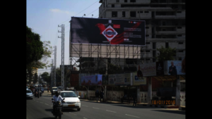 We're famous in Hyderabad!