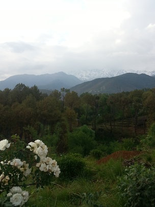 Our workshop site in Himalayas