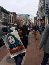 Nilo @women's march in DC
