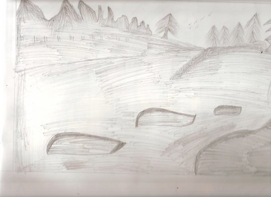 Sketching the Landscape...