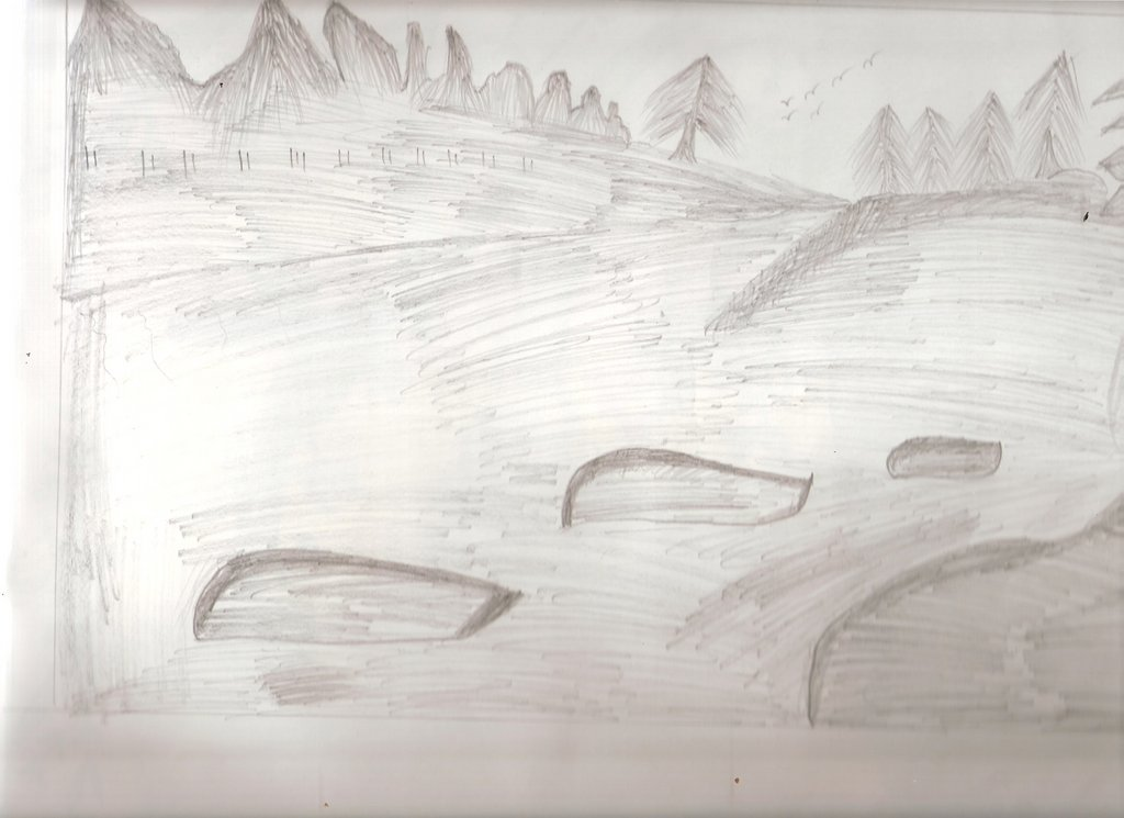 Sketching the Landscape...