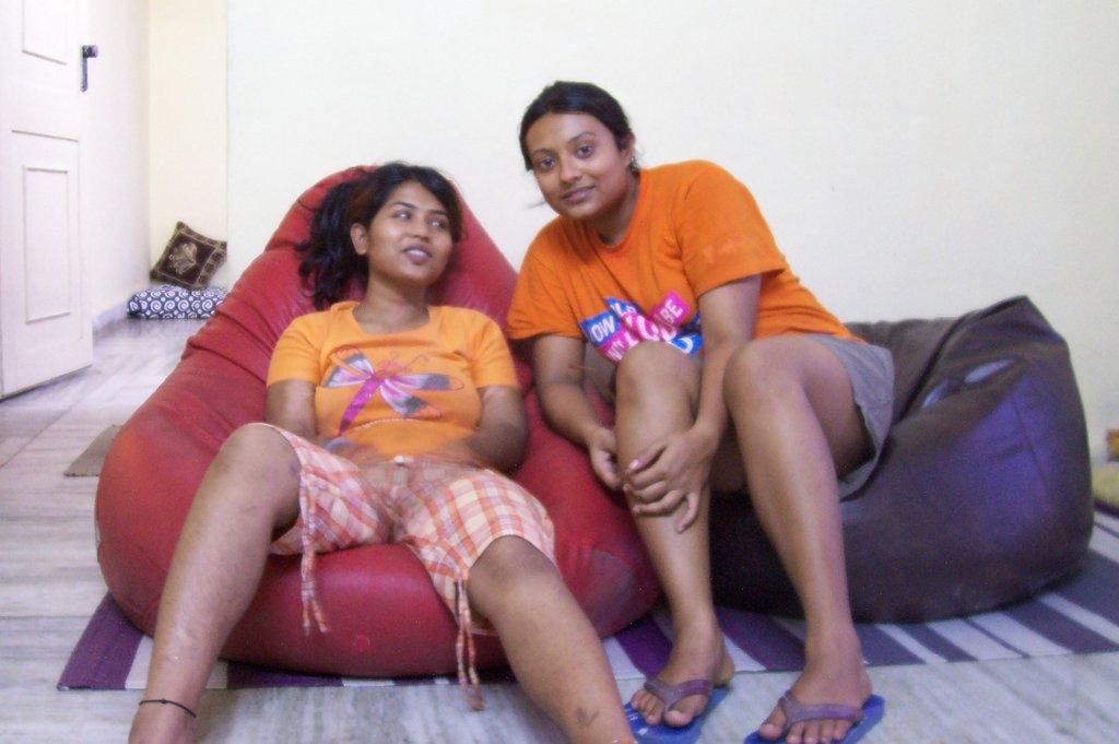 Chilling in the Kranti home...