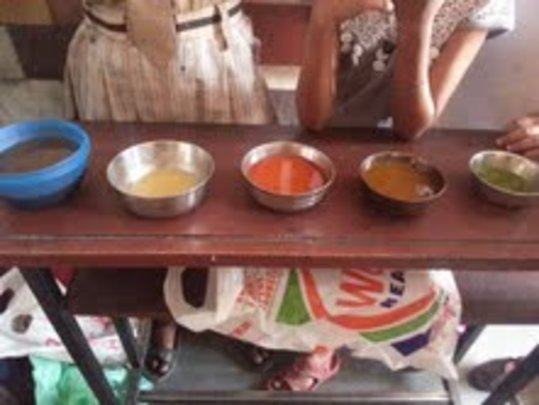 Sum's Science Fair Project - Natural Dyes