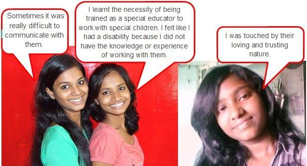Revolutionaries speak about Sadhana Special School