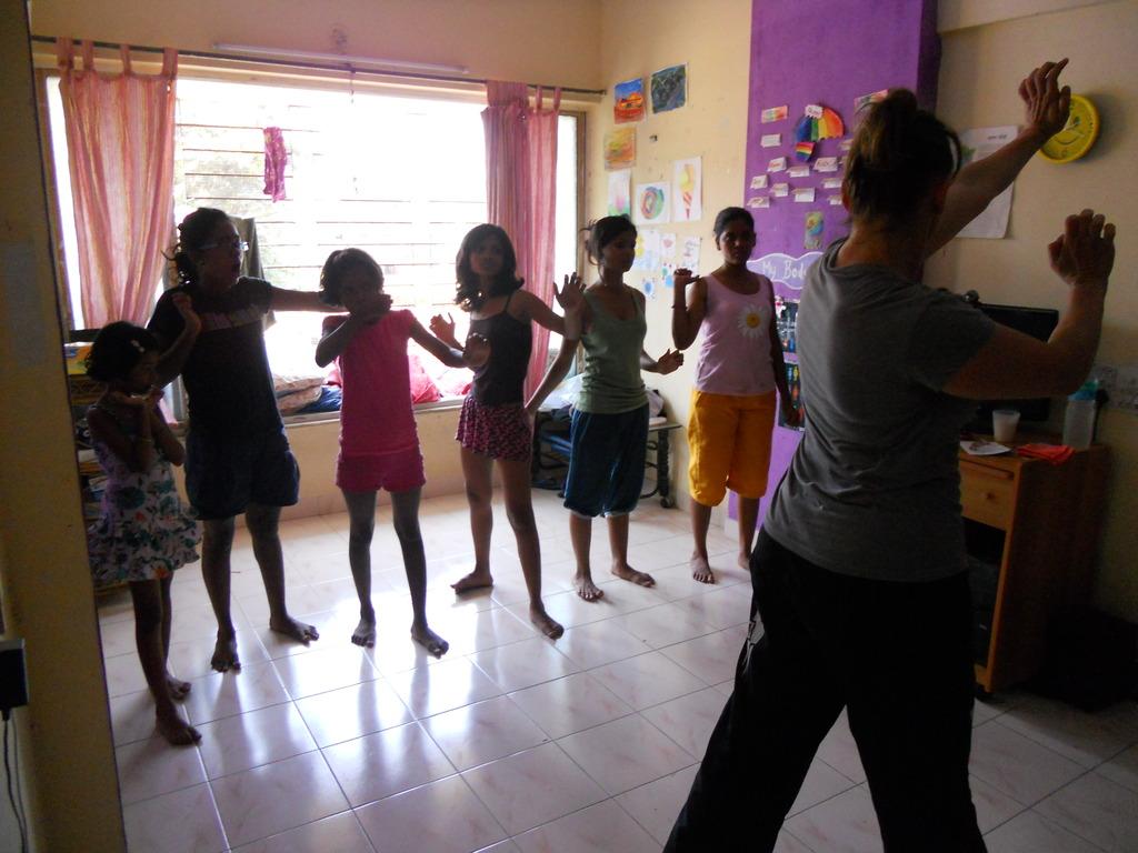 Self defense training at home