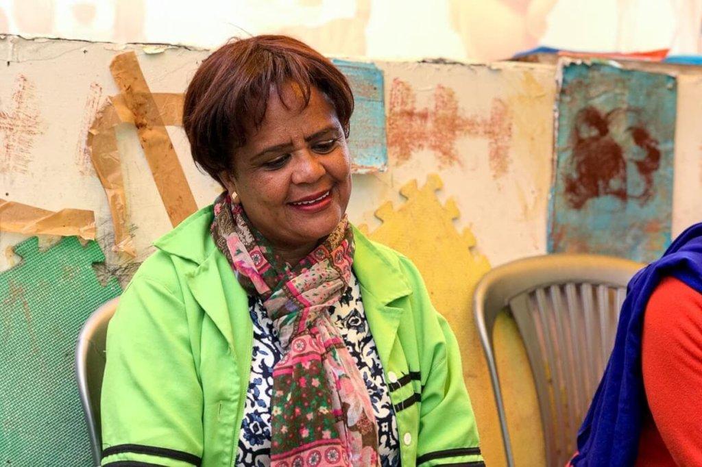 Emebet, 45, shares her story