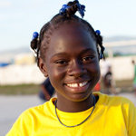 Thirteen-year-old Herma from Haiti