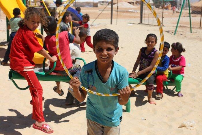 A playground in Jordan