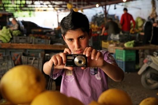 Fadi Kaheel uses his new photography skills