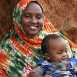 Nimo, a 25-year-old mother in Kenya
