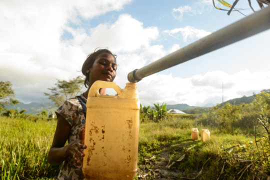 Bringing clean water to communities
