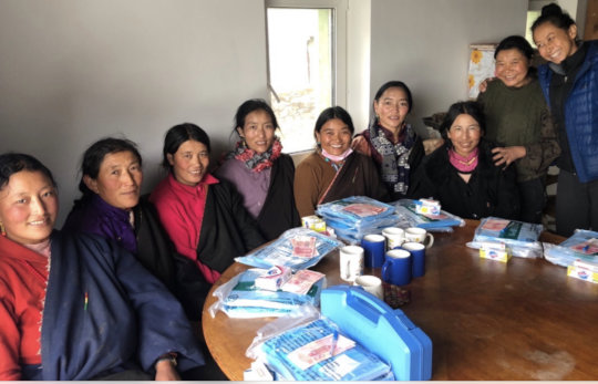 Community Health Worker Training @ Surmang Clinic
