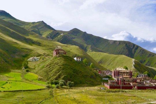Dutsi til Monastery, where our clinic campus sits