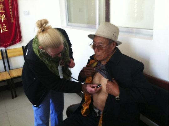 Patient exam Xiewu