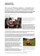 Article in the Christian Science Monitor about us (PDF)