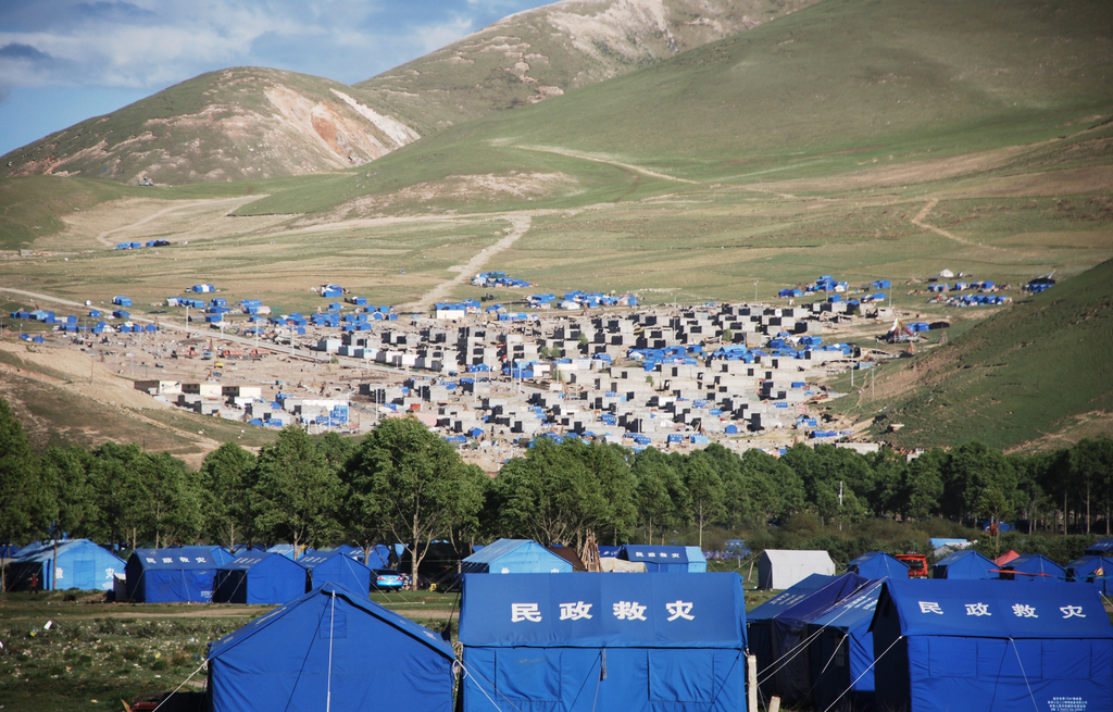 Tent City: how all of Yushu