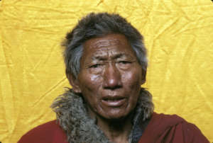 Regent Abbot Tashi, who gave the clinic land