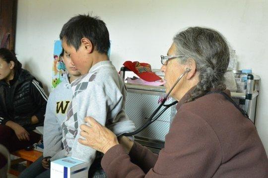 Dr. Julie Carpenter with Patient 3
