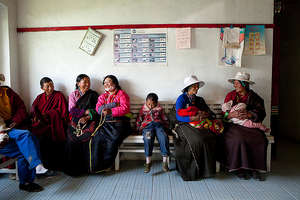 Waiting Room, Surmang Clinic